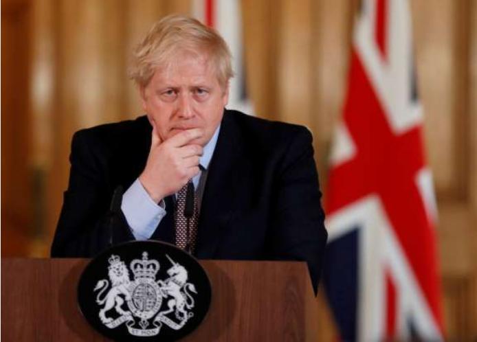 英国首相约翰逊离开重症监护室